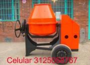 Mezcladora para concreto pluma grua cortadora de pavimento