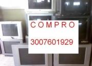COMPRO TELEVISORES CONVENCIONALES USADOS