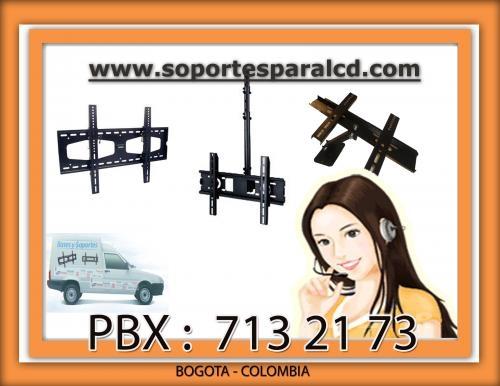Soportes para televisor lcd led plasma domicilio gratis bogota.2304583