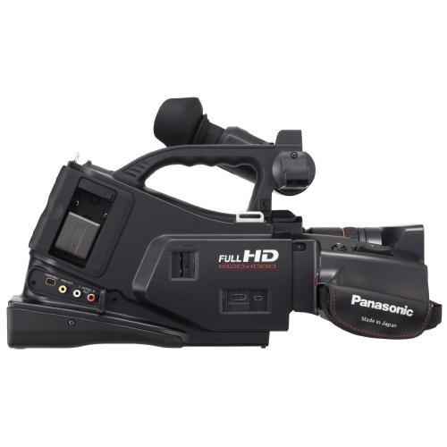 Cámara de video profesional panasonic ag-ac7 full hd de hombro