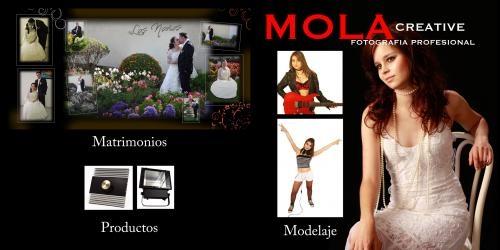 Mola creative fotografía profesional y diseño web e impresos