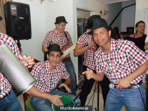 Parranda vallenata en bogota , grupo talento juvenil - llama ya al 5638281 - 3008224547 - 3213804612