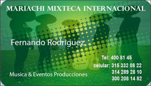Serenatas mariachis eventos sonido grupo tropical