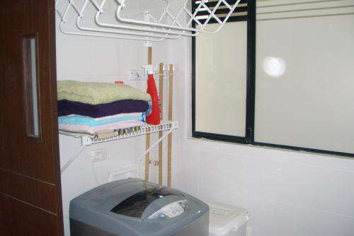 Furnished apartment for rent 15th floor.