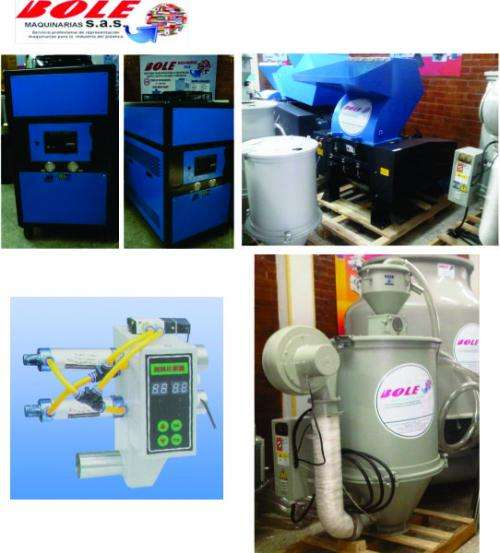 Fotos de Maquinarias y equipos auxiliares para la industria del plastico 4