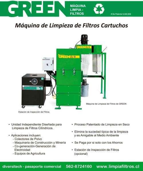 Maquinas limpia filtros