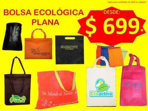 Bolsas ecológicas ecoactiva tnt