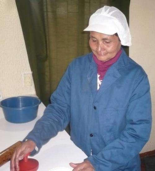 Elaboracion de arepas, empanadas y pastales de yuca