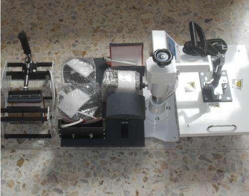 Maquinaria industrial de trasnfer, sublimacion, termofijacion, estampacion 6 en 1 venta en barrancabermeja