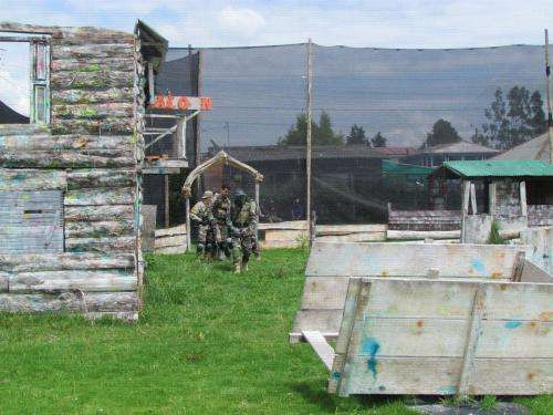 Paintball bogota y canchas sinteticas futbol 6, eventos