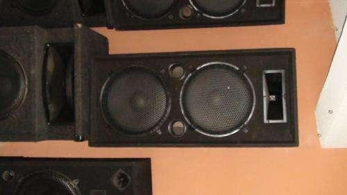 Vendo cabinas de sonido profesional