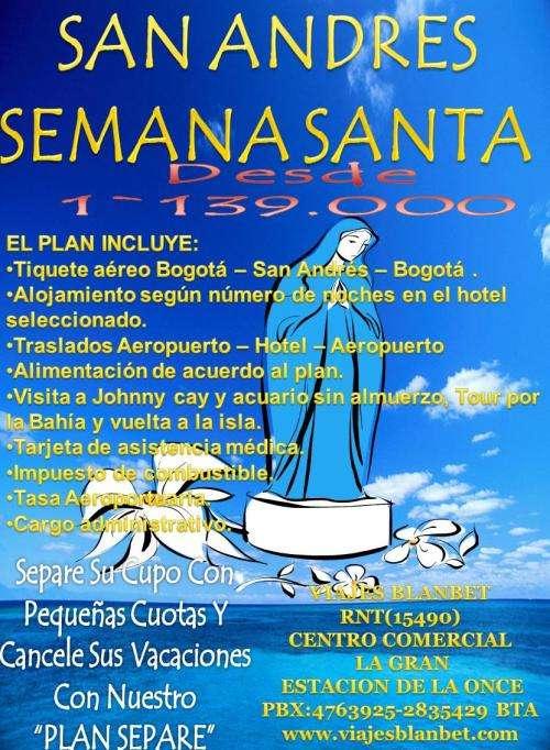 San andres semana santa viajes blanbet 2012