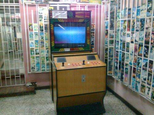 Videojuegos maquina de 33 pulgadas para venta o alquiler