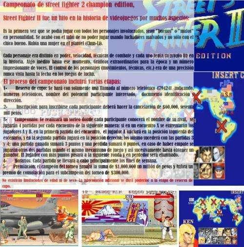 Campeonato street fighter ii: champion edition bogota 2012 $1,000,000 premio