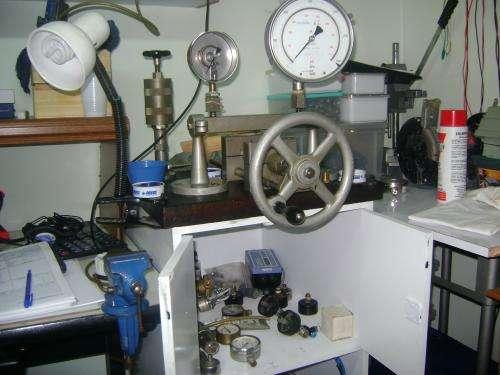Calibracion de manometros y transmisores de presion
