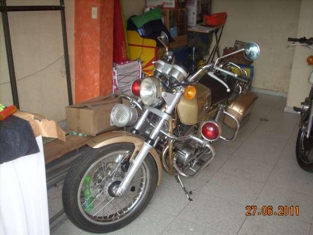 Vendo moto yamaha modelo 1978 original