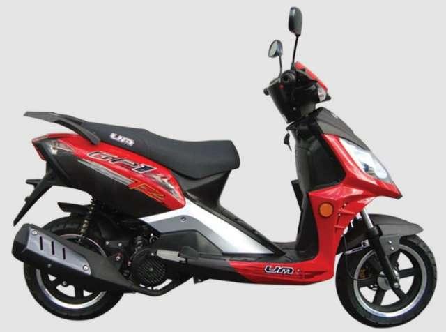 Vedo moto um gp1-150 - modelo 2010 negra - ganga