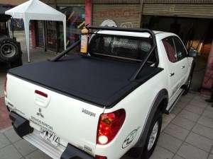 Carpa plana para camioneta technicarpar colombia