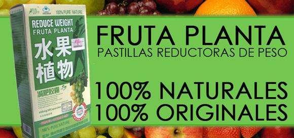 pastillas fruta planta reduce weight 100 originales