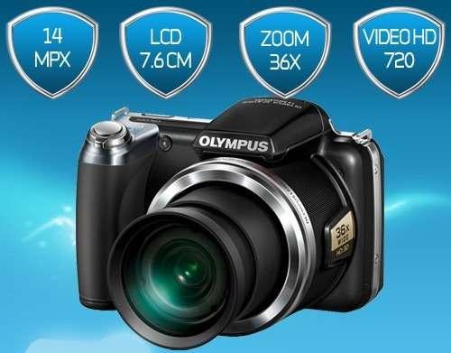 Camara digital olympus sp 810 uz 14 px. nueva. valor $850.000. pesos.