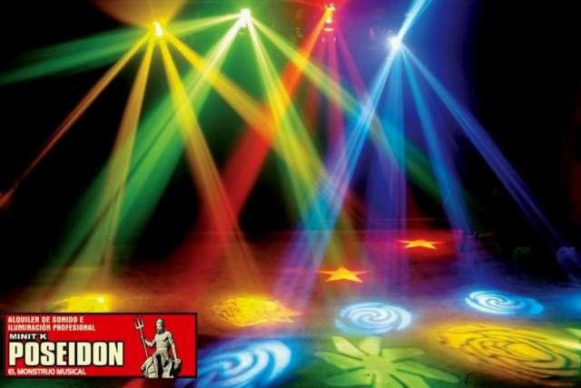 Alquiler de luces, sonido y efectos especiales para fiestas y eventos en bucaramanga