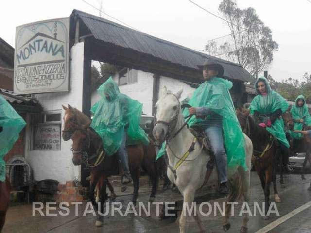 Cabalgatas en la calera montana bogotá-colombia
