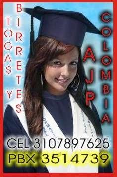 Togas y birretes bogotá colombia pbx3514739 ce3107897625