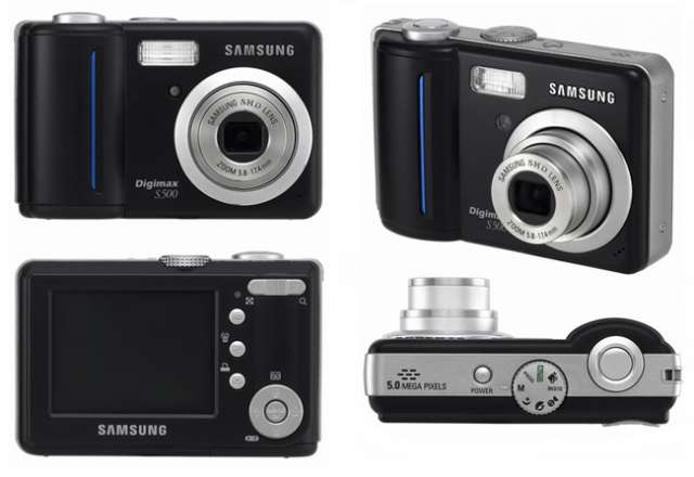 Digimax s500 es una cámara digital de alta resolución y equipada con un ccd de 5,1 megapíxeles de filtración de colores reales. puede utilizar la cámara digital digimax s500 para producir fotos aún me