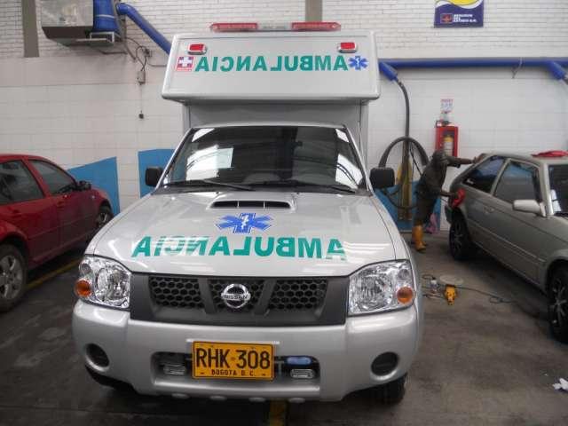 Alquilo directo ambulancias nissan frontier nuevas 4x4 empresa legal
