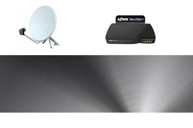 Sistema completo de televisión satelital sin pagar mensualidades