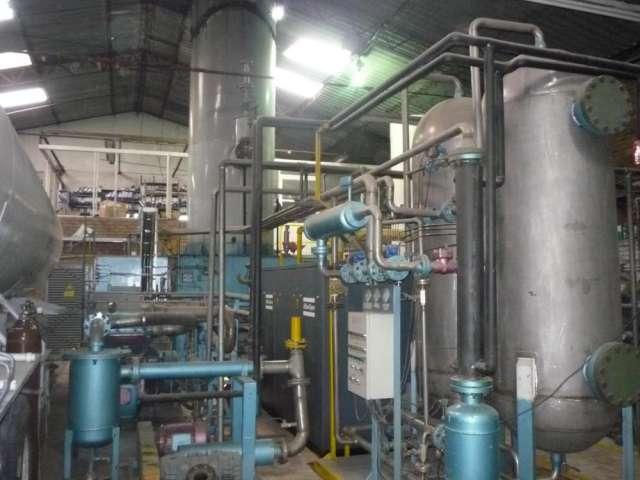 Planta de produccion de nitrogeno liquido y nitrogeno gas