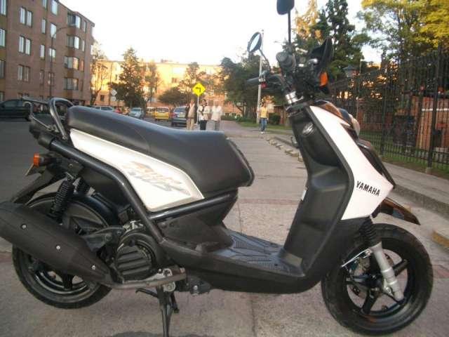 Yamaha bws 125. modelo 2011 excelente estado. unica dueña