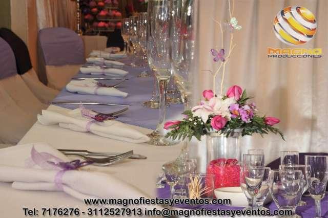 Banquetes fiestas y eventos en bogotá