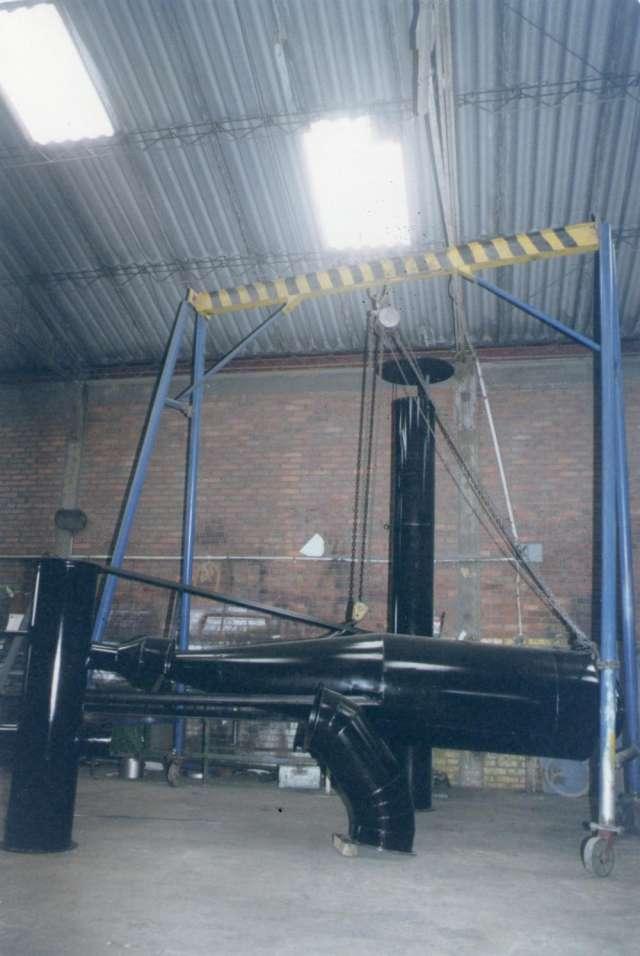 Fabricamos todo tipo de tanques, chimeneas industriales