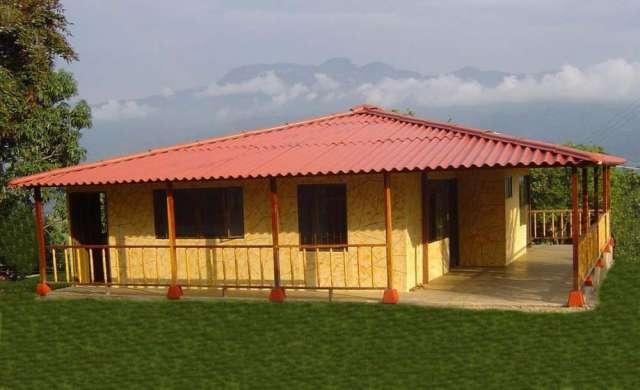 Casas prefabricadas neiva económicas bonitas seguras www.colblock.com