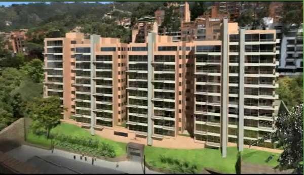 Cedo espectacular apartamento en rosales bogota