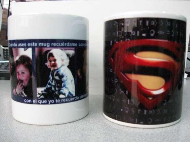 Recuerdos familiares grabado laser pocillos en ceramica fotos familiares impresion en bogota