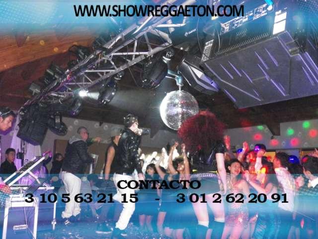 Show de reggaeton bogota - hora loca bogota - reino urbano