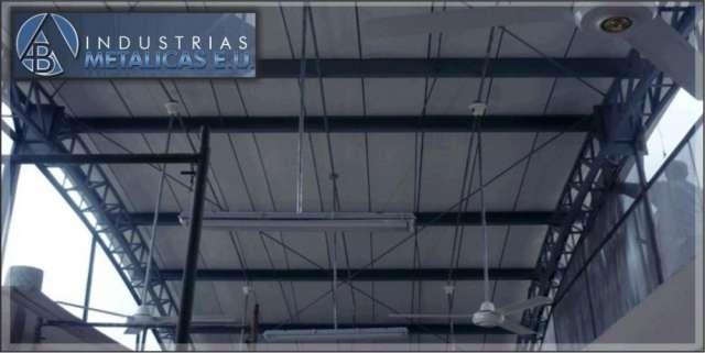 Estructuras metalicas para cubiertas y mezanines