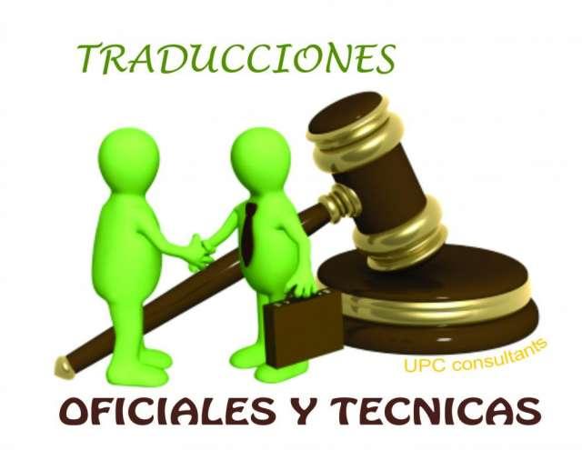 Servicio de traducciones oficiales*