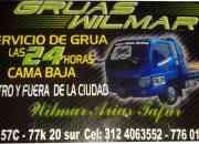 GRUAS WILMAR ARIAS SERVICIO GRUA 24 HORAS