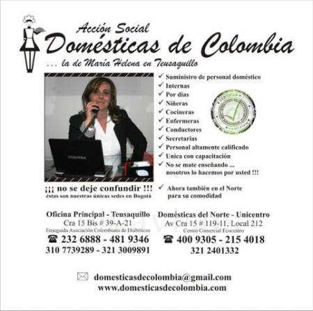 Domesticas de colombia (teusaquillo)