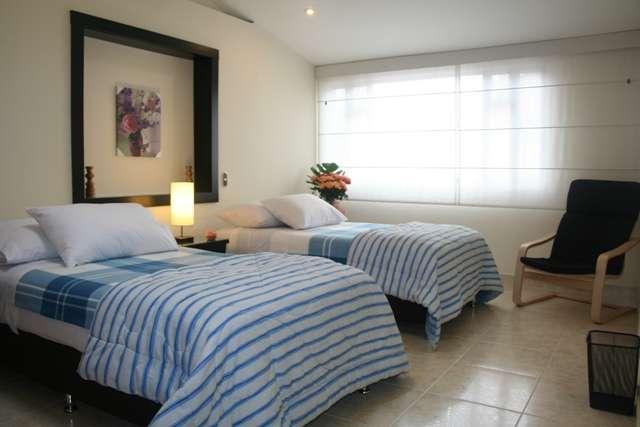 Alquiler - renta apartamentos amoblados en bogotá 2 habs. meses / semanas