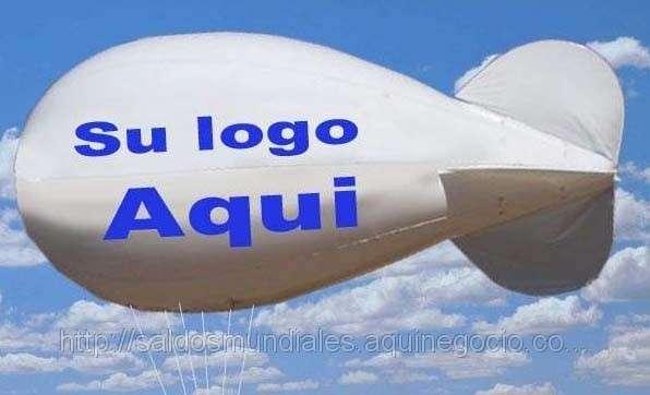 Publicidad aerea con globos aerostaticos