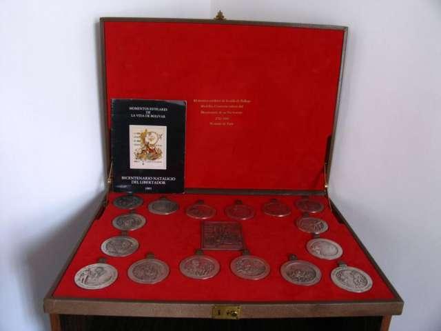 Fotos de Medallas de coleccion momentos estelares de bolivar 3