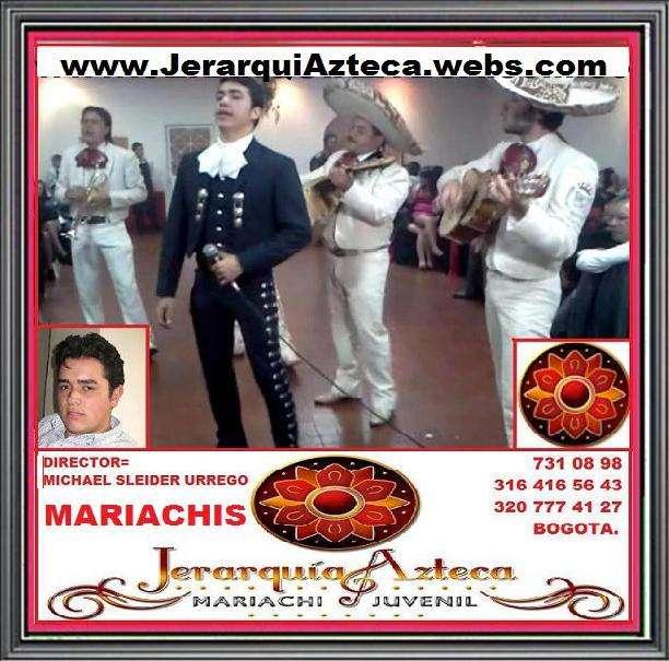 Mariachis bogota. mariachi juvenil jerarquia azteca. shows empresariales y familiares. serenatas. fiestas. rumbas. shows. eventos. cantantes. artistas. bienvenidas. despedidas. matrimonios. cumpleaños