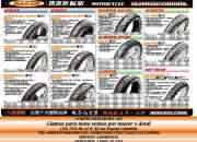 Venta de llantas  para moto al detal y al mayor  cheng  shin tire