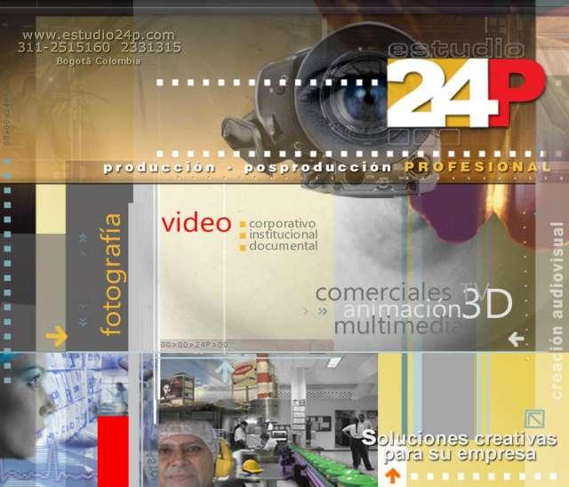 Grabación video bogota edición estudio24p
