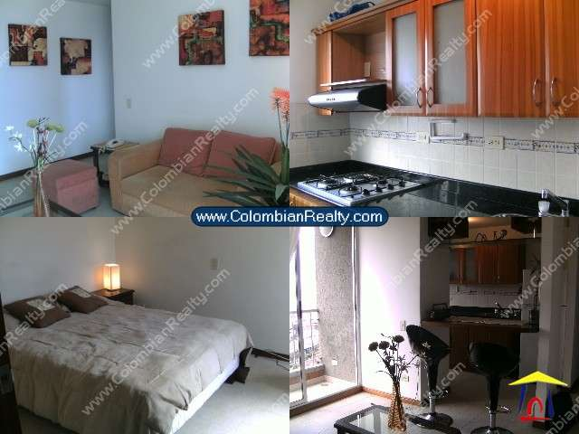 Furnished apartments for rent in medellin (poblado-colombia) code.10673