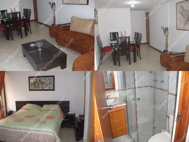 Furnished apartments for rent in medellin (poblado-colombia) code.10672